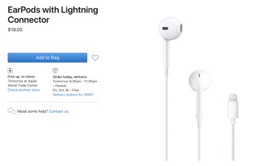 earpods lower price