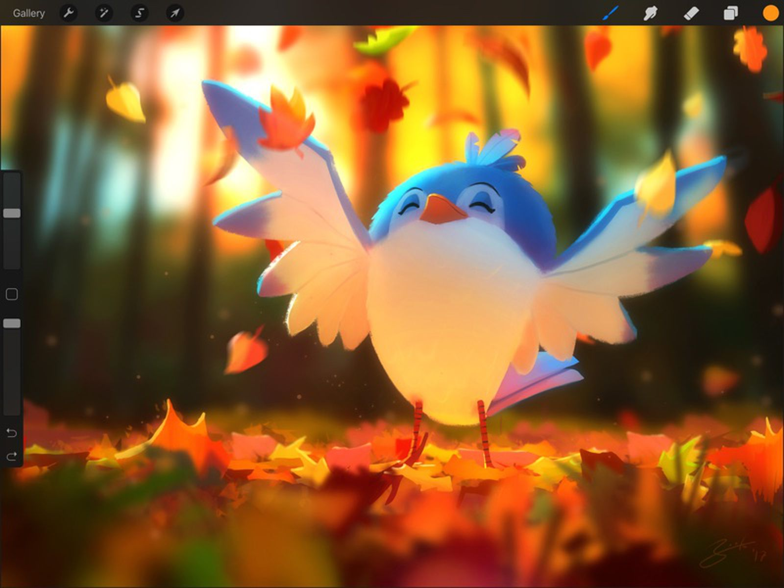 Procreate For Ipad Gains New Liquify Filter Warp Transform Mode And Symmetry Drawing Guide Macrumors