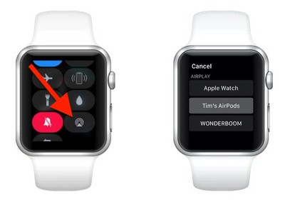 apple watch airpods connect