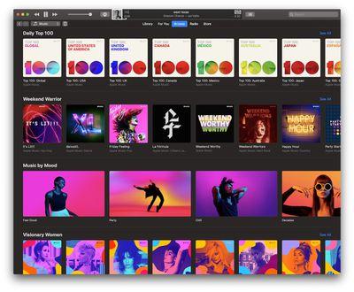 march apple music update mac