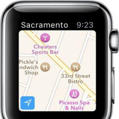 Apple Watch Apple Maps 2