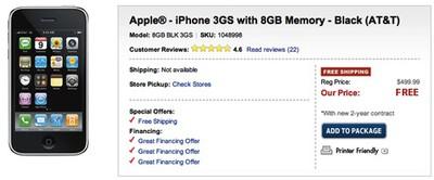 143358 best buy free iphone 3gs