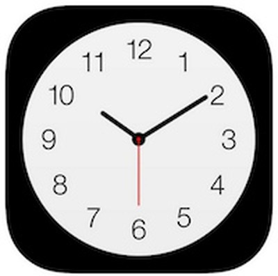 Apple-clock-icon