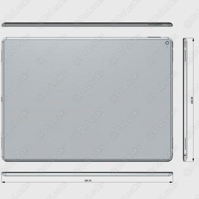 Dimensions iPad Pro Air Plus