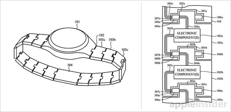 Apple Watch band patent