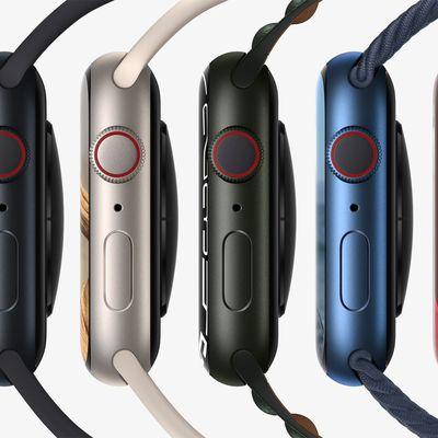 apple watch series 7 aluminum colors