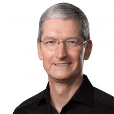 tim cook headshot glasses