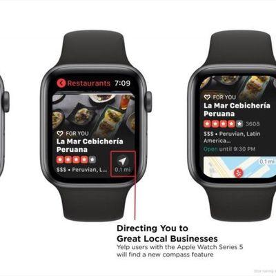 yelp on apple watch series 5