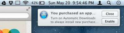 mountain lion automatic download