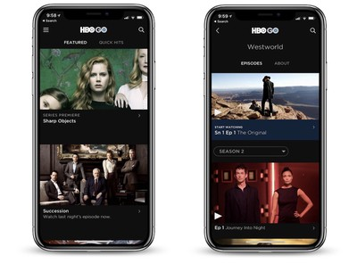 HBO GO iphone x
