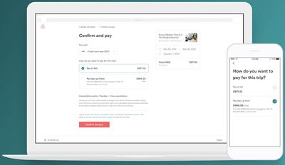 airbnb payment plan