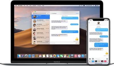 iphone x macbook hero imessage how to