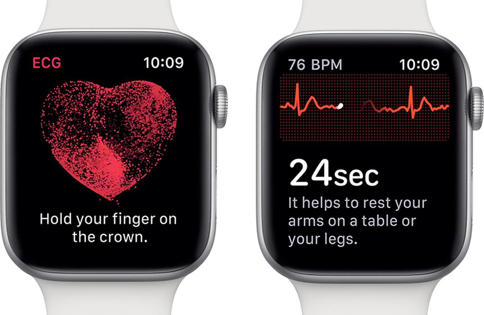 Apple Watch Series 4's ECG Feature Will Work Internationally When Set to U.S. Region - MacRumors
