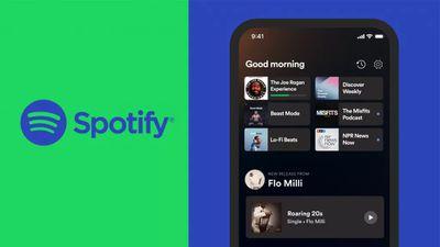 spotify march 2021 home screen update