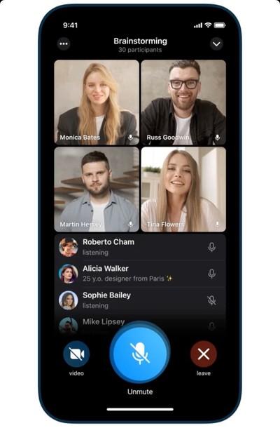 telegram video