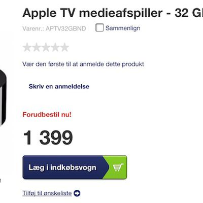 Apple TV 4 Elgiganten