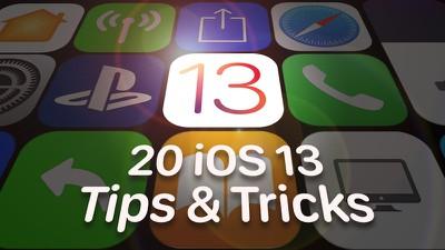 20 ios 13 tips