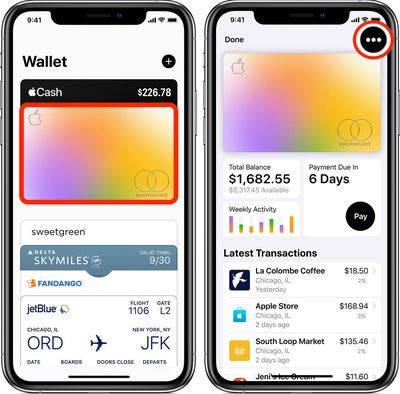 how to add a bank account apple card