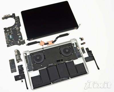 retina macbook pro teardown