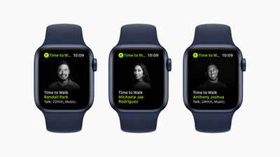 apple fitness plus time to walk june 2021