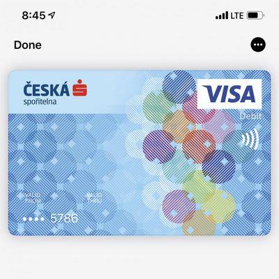 apple pay czech republic