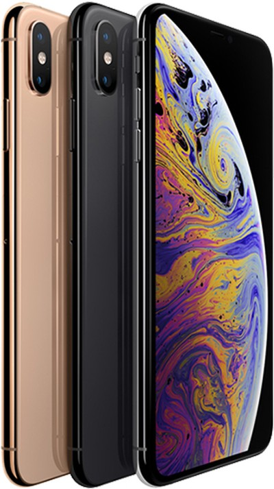 iphone xs right aligned