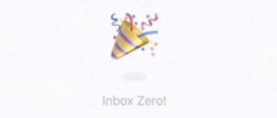 inbox zero emoji from githawk