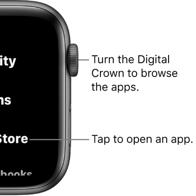 list view apple watch