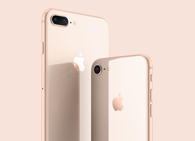 Vidrio del iPhone 8