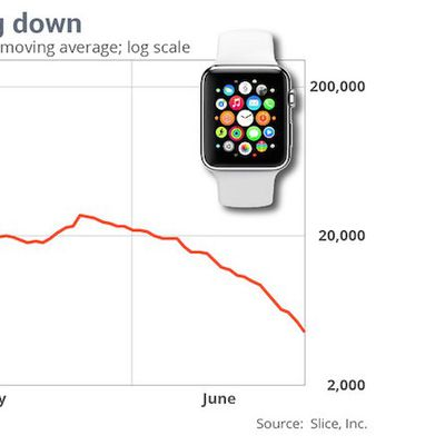 Apple Watch Sales Slice Apr to Jun 2015