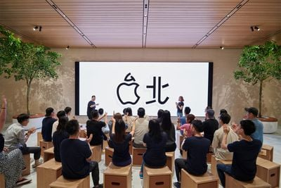 new apple store taipei today at apple 061219 big
