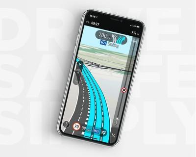 TomTom GO Navigation iPhone app