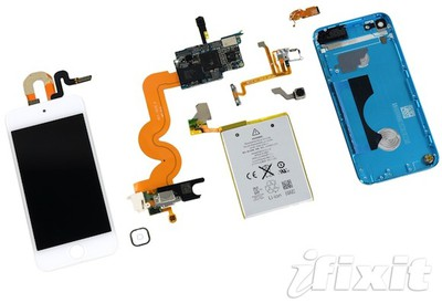 ifixit ipod touch 5gen teardown