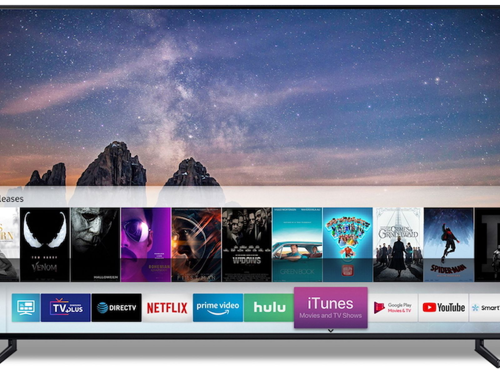 Apple Shares List of AirPlay 2-Enabled Smart TVs From Samsung, LG, Sony,  and Vizio - MacRumors