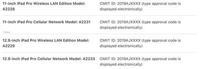 new ipad pro models china user manual