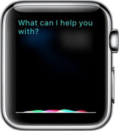 Siri on Apple Watch
