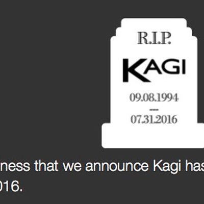 kagi shutdown