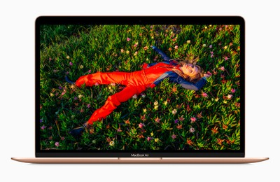 new macbook air gold retina display screen