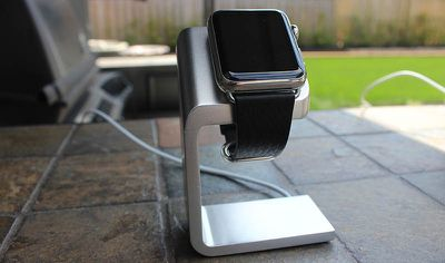 Duet Apple Watch Stand