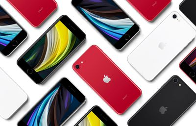 iPhone SE2 Layout