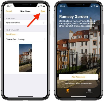 how to add a second home apple homekit 1