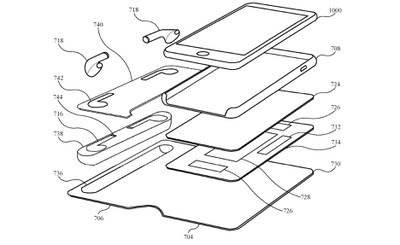 airpods iphone case patent exploded