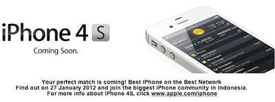 iphone 4s indonesia telkomsel