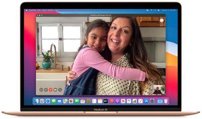 macbook air facetime camera