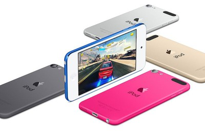 iPod touch colors 2015