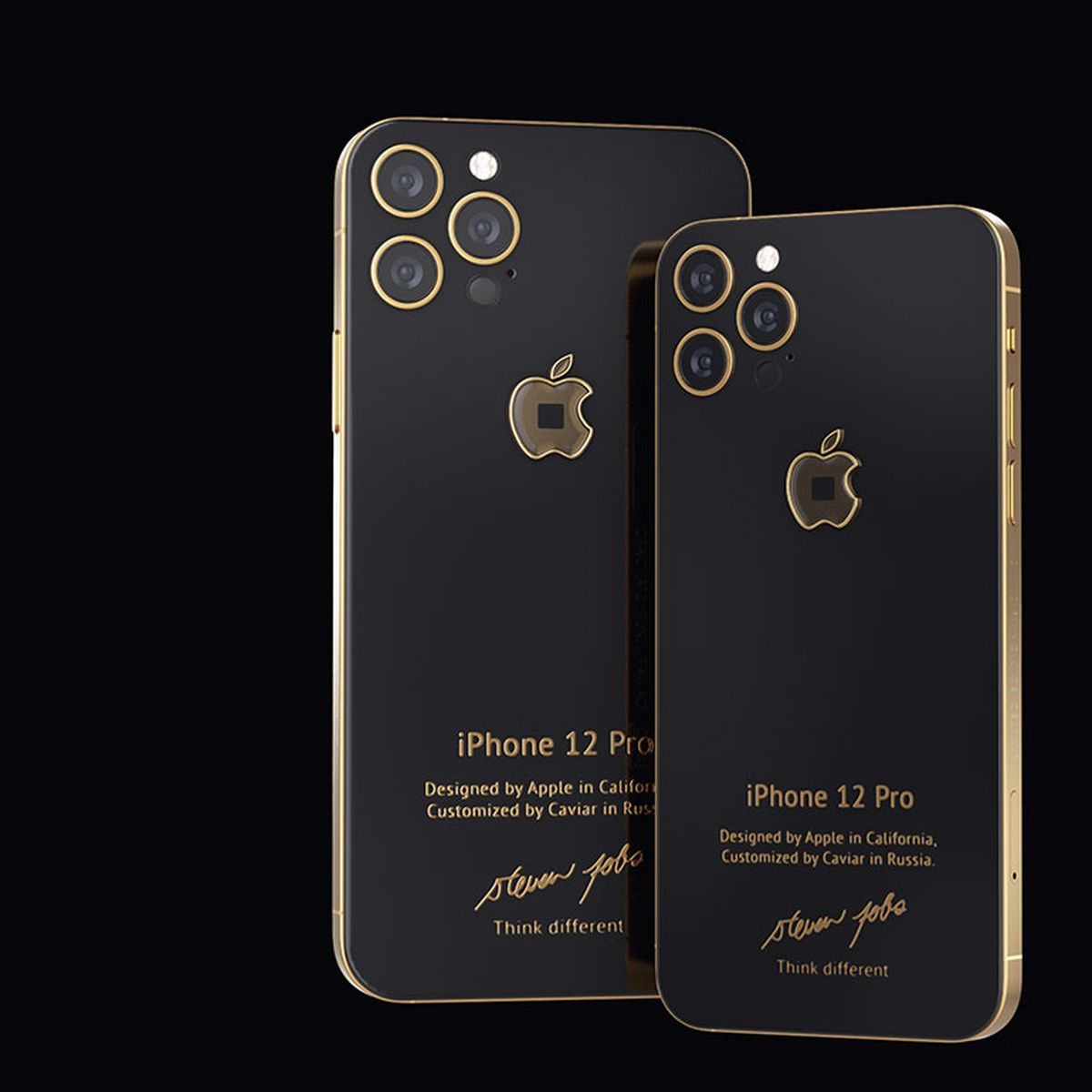 Custom iPhone 12 Pro With Fragment of ...