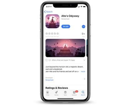 alto odyssey launch app store