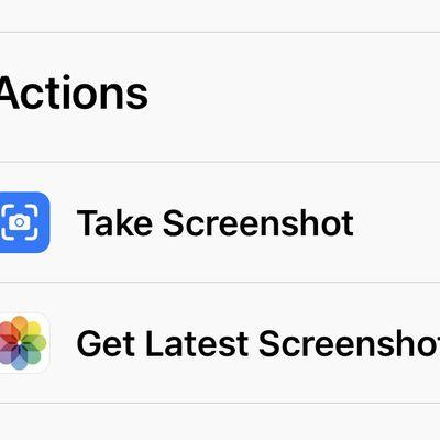shortcuts action take screenshot
