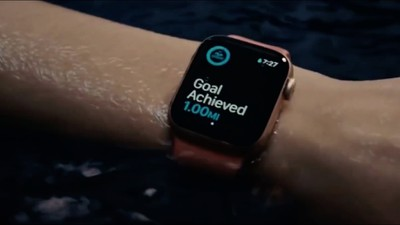 apple watch swim tracking