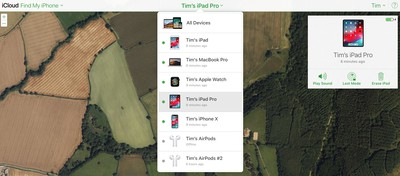 how to use find my iphone on mac or pc 6